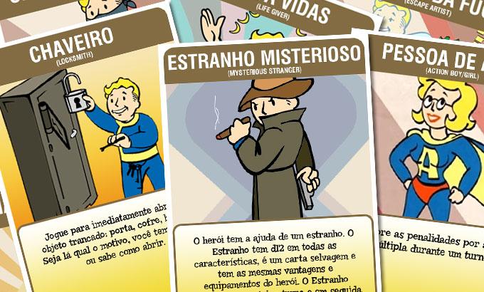 Cartas de Aventura: Fallout