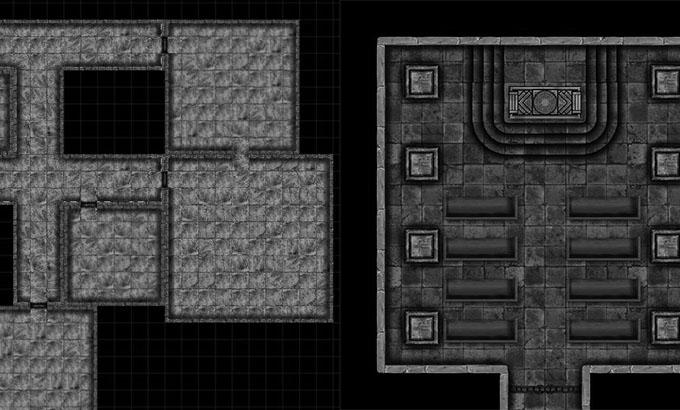 Mapa Modular: Templo e Construção de Pedra
